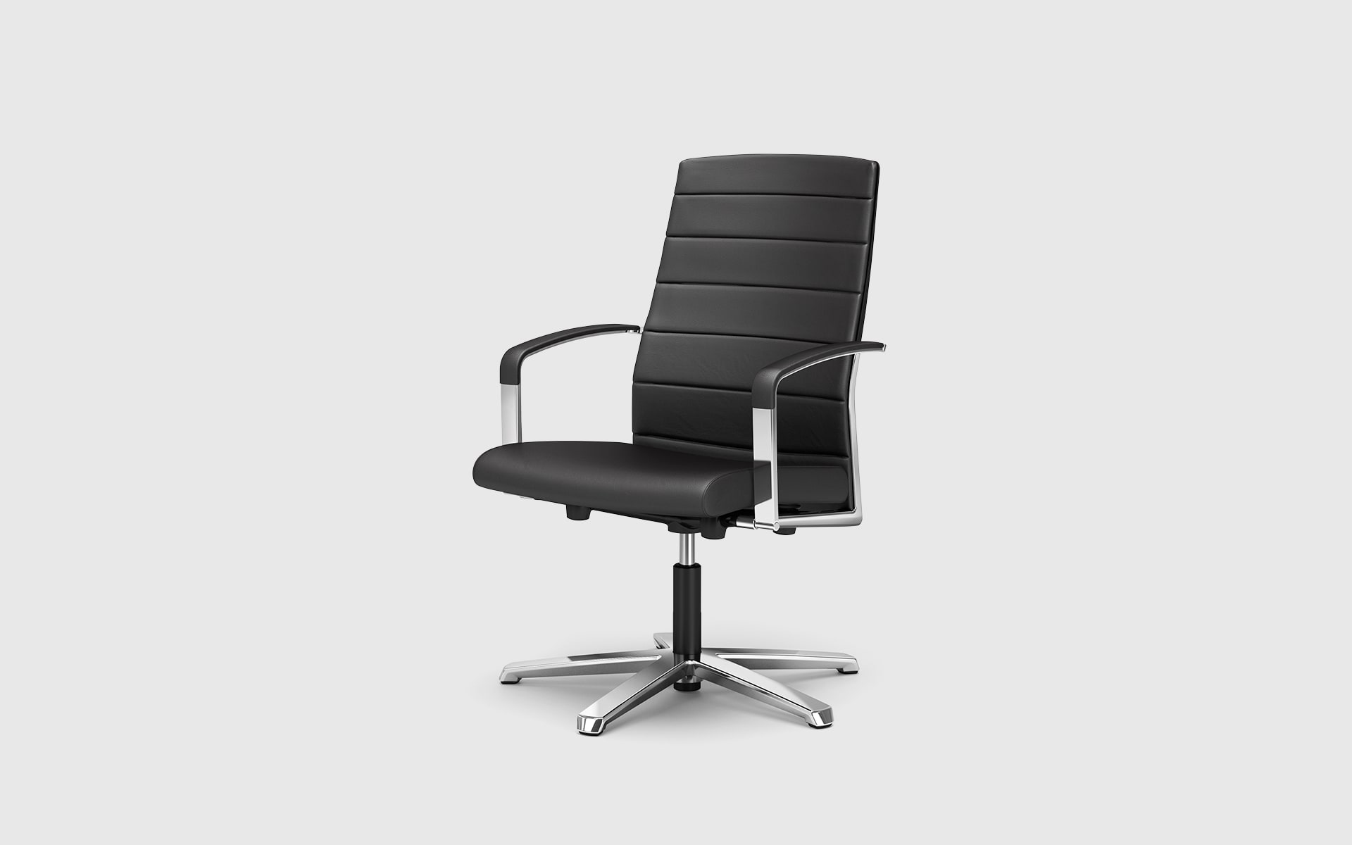 K+N Agenda conference chair by ITO Design in black
