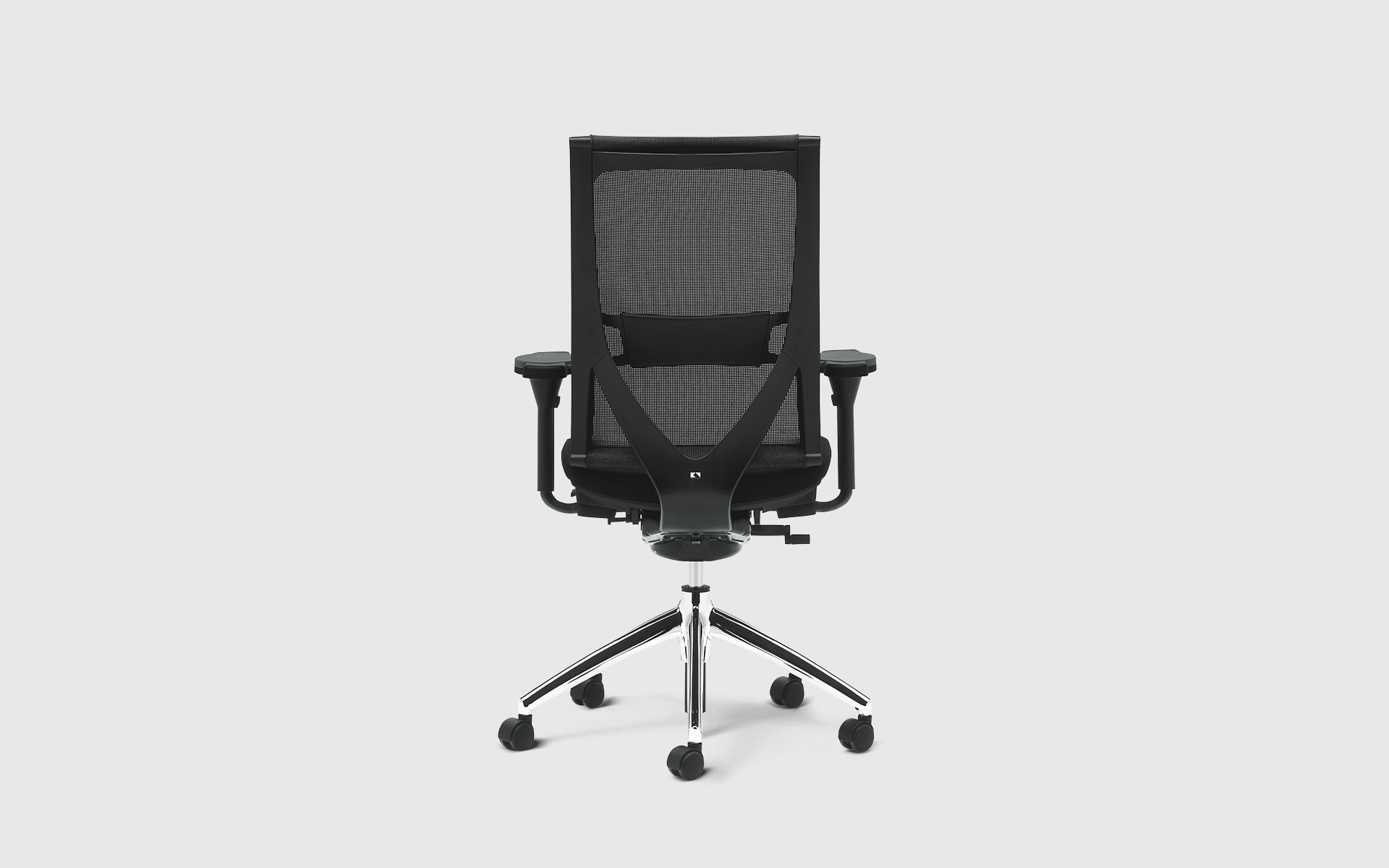 K+N Okay office chair by ITO Design in black