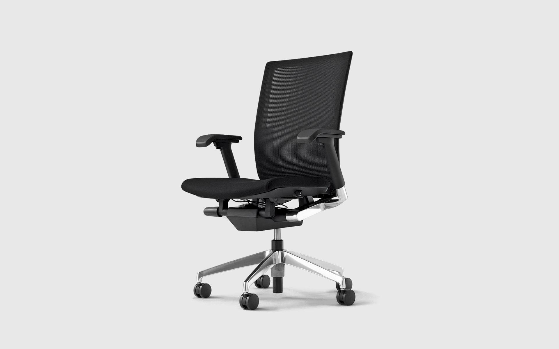 ITOKI Vento Bürostuhl von ITO Design in Schwarz