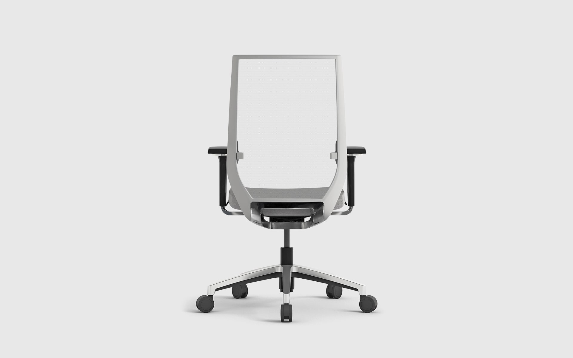 Forma 5 Eben office chair by ITO Design in white