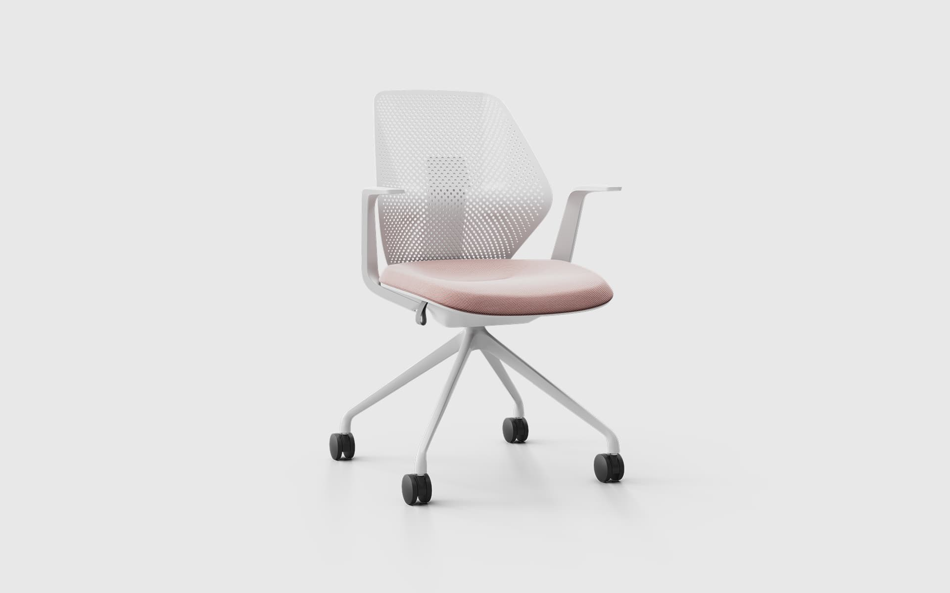 Close-up of the ITOKI QuA office chair by ITO Design