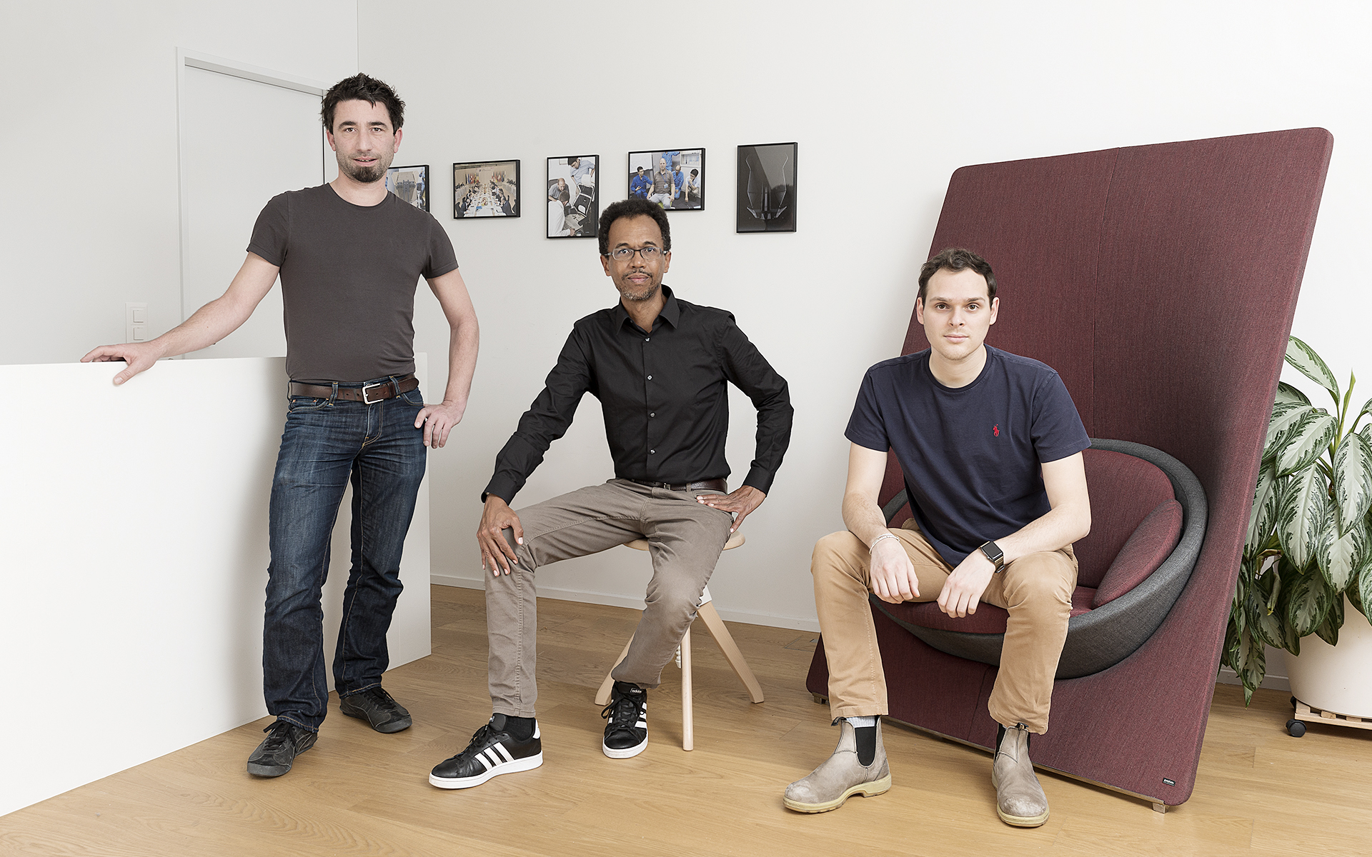 The Swiss ITO Design team in their office