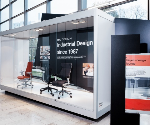 """Ito Design Presents Itself In The """"Bayern Design Lounge"""" At Nürnbergmesse."""