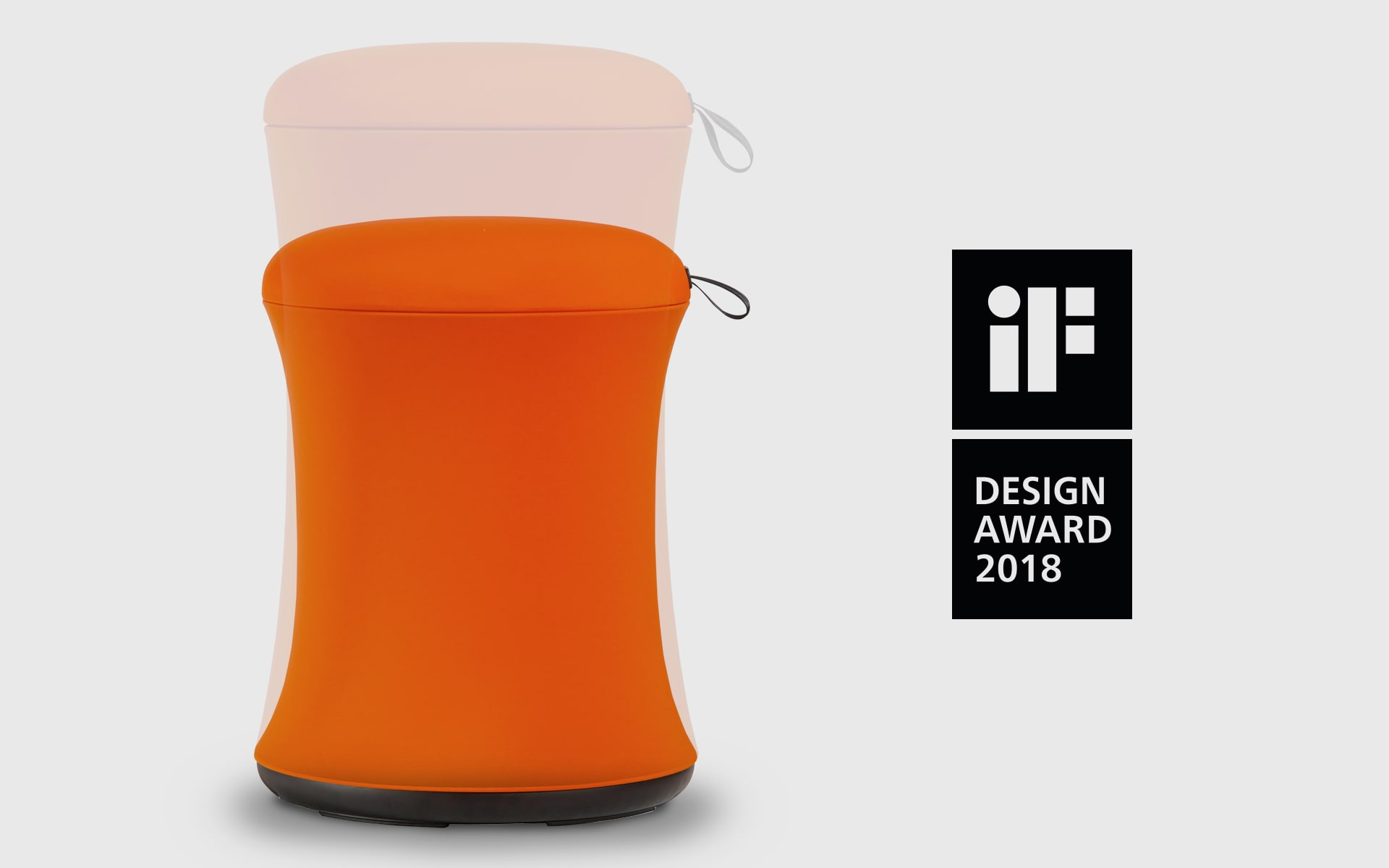 UE Furniture Uebobo stool by ITO Design in orange